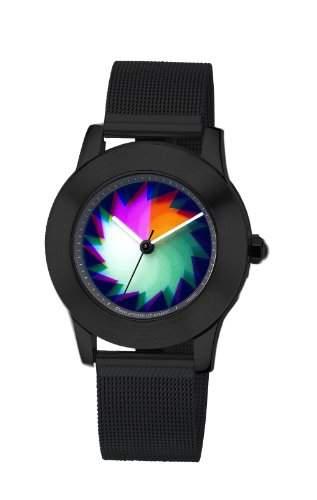 Rainbow e-motion of color Unisex-Armbanduhr Quarz Analog EL47PB-B-PB-sa