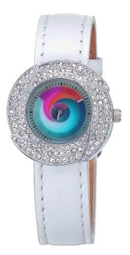 Rainbow e-motion of color Damen-Armbanduhr Lea surprise Analog Quarz LC11-WL2-su