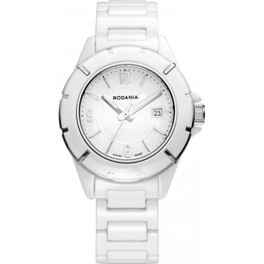 Rodania Swiss Damen Armbanduhr Mystery Analog Quarz Keramik RS2508540
