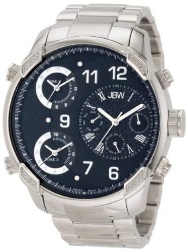 JBW Herren-Armbanduhr XL G4 Analog Quarz Edelstahl J6248B