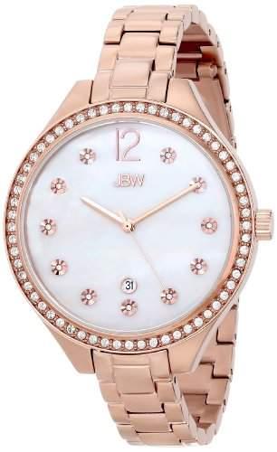 JBW Damen-Armbanduhr MIA Analog Quarz Edelstahl beschichtet J6289D