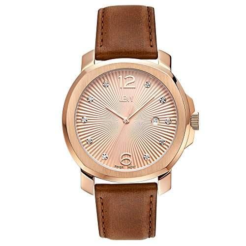 JBW Damen-Armbanduhr Chelsea Analog Quarz Leder J6301B
