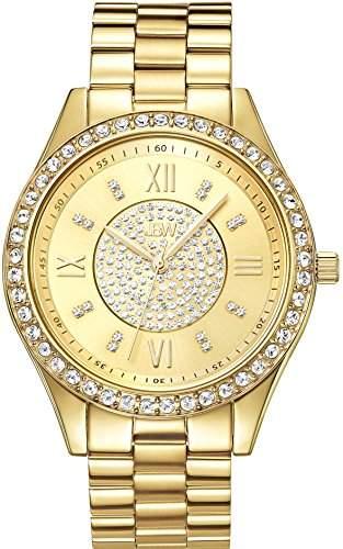 JBW Diamant Damen Edelstahl Uhr MONDRIAN - Gold
