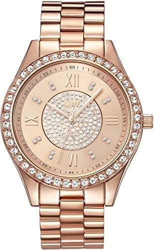 JBW Diamant Damen Edelstahl Uhr Mondrian - rose gold