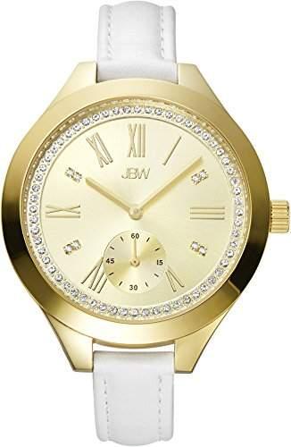 JBW Diamant Damen Edelstahl Uhr ARIA - Gold