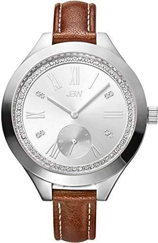 JBW Diamant Damen Edelstahl Uhr ARIA - Silber