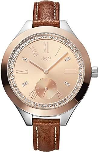 JBW Diamant Damen Edelstahl Uhr Aria - rose gold