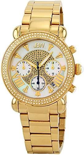 Just Bling Damen JB-6210-160-I Argon 1,5 Karat Diamant Chronograph