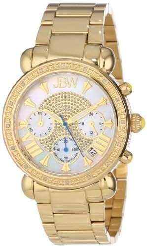 Just Bling Ladies JB-6210-A Bronx Gold Diamond Watch