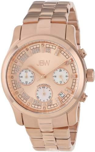 JBW Diamant Damen Edelstahl Uhr ALESSANDRA - rose gold