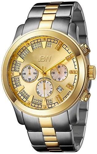 Just Bling Herren JB-6218-C Classic Two-Tone Chronograph Diamond Watch