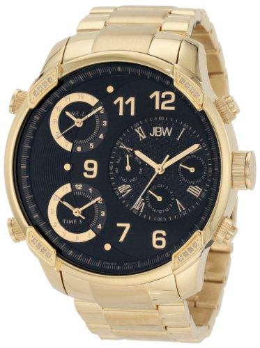 JBW Diamant Herren Edelstahl Uhr G4 gold