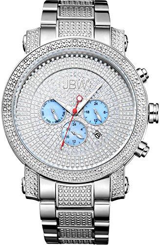JBW Armbanduhr JB 8102 B Silver