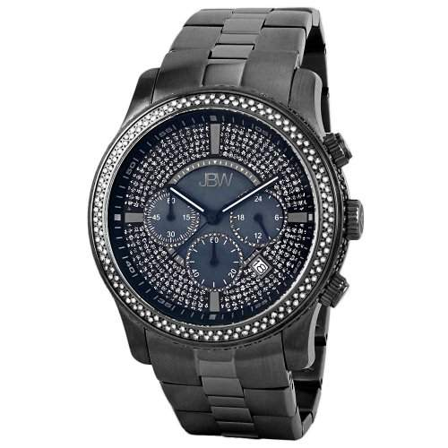 "Just Bling Herren JB-6230-C Ultra Bling Collection ""Vanquish"" 2,50 Carat Chronograph Diamond Watch"