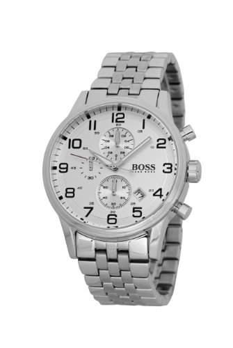 Hugo Boss Herren-Armbanduhr XL Gents Classic Chronograph Edelstahl 1512445