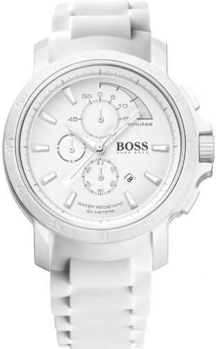 Hugo Boss Herren-Armbanduhr Chronograph Quarz Silikon 1512848