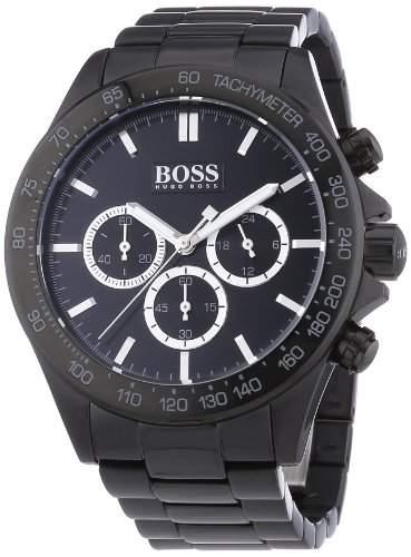 Hugo Boss Herren-Armbanduhr Chronograph Quarz Edelstahl 1512961