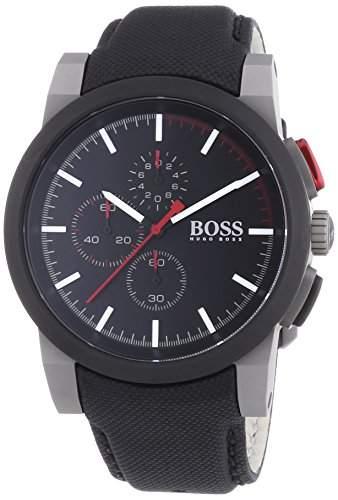 Hugo Boss Herren-Armbanduhr Chronograph Quarz Plastik 1512979