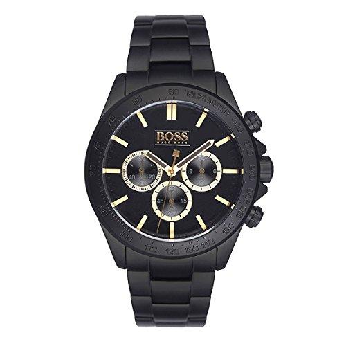 Hugo Boss Herren Mens Chronograph Analog Dress Quartz Reloj 1513278