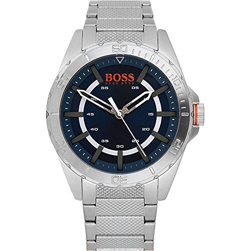 Hugo Boss Orange Berlin Mens Silver Stainless Steel Watch 1513220
