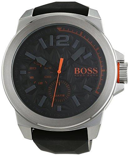 BOSS Orange NEW YORK Multieye Analog Quarz Silikon 1513346