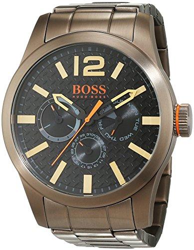 BOSS Orange PARIS Multieye Analog Quarz Edelstahl beschichtet 1513313