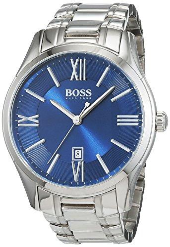 Hugo Boss XL Ambassador Round Analog Quarz Edelstahl 1513034