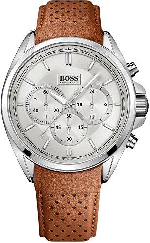 Hugo Boss XL Driver Chronograph Quarz Leder 1513118