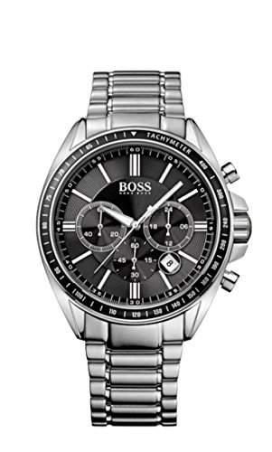 Hugo Boss Herren-Armbanduhr XL Driver Sport Chronograph Quarz Edelstahl 1513080