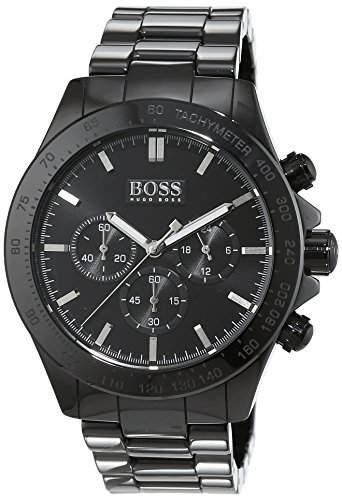Hugo Boss Herren-Armbanduhr Chronograph Quarz Keramik 1513197