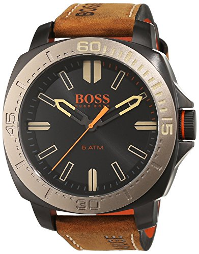BOSS Orange SAO PAULO Analog Quarz Leder 1513314