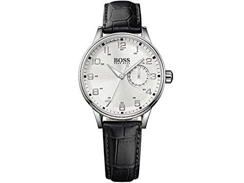 Damen Schwarz Hugo Boss Datum Display Armbanduhr 1502312