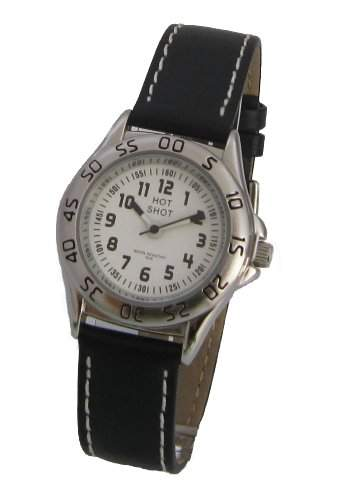 Hot Shot Jungen - Armbanduhr Analog Quarz 5 bar 0957-1