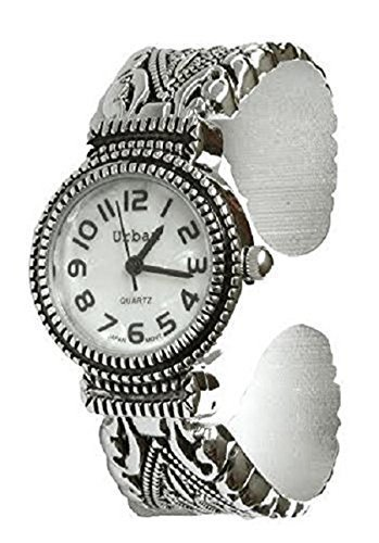 uhr Vintage Antik Armband Marciste Stil Armbanduhr Versilbert