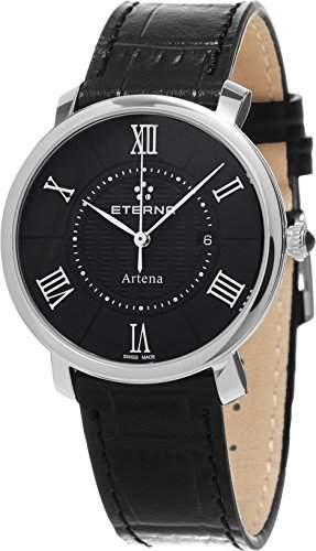 Eterna Artena Damen-Armbanduhr 34mm Schweizer Quarz 2510-41-45-1251