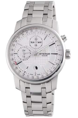 Eterna Herren 834041171225 Soleure Mondphase Chronograph Automatic Schweizerischen Uhrenindustrie