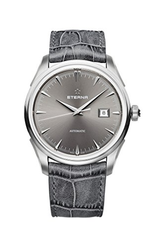 ETERNA 1948 Collection Legacy Automatik Armbanduhr grau Swiss Made 2951 41 56 1343 UVP 1890EUR