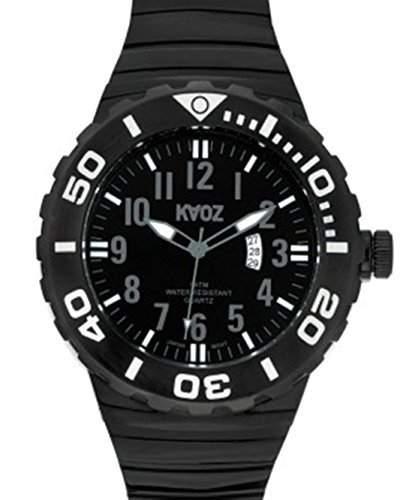 KA:OZ Herren - Armbanduhr Analog Quarz Silikon A87101SS5A