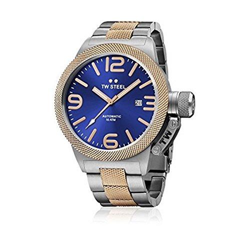TW Steel Armbanduhr Analog Quarz CB146 PLATA