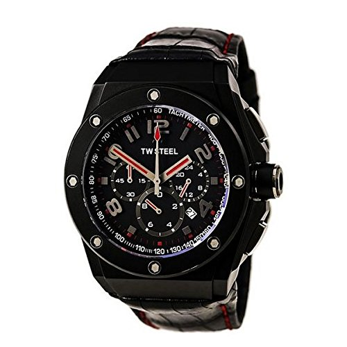 TW Steel Armbanduhr Chronograph CE4008 NEGRO