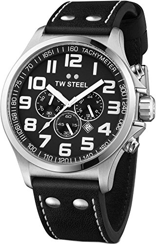 TW Steel Pilot Chrono TW 412 Herrenchronograph Sehr gut ablesbar