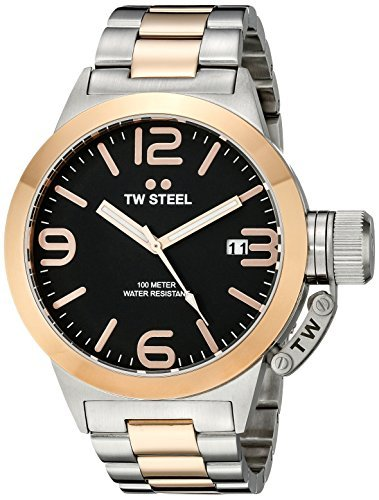 TW Steel CB131 Analog Display zweifarbig Quarz von TW Steel