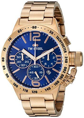 TW Steel Herren CB183 Analog Display Quarz Rose Gold Watch von TW Steel