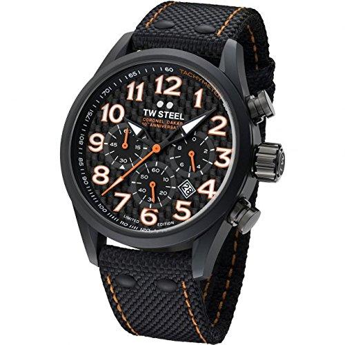 Herren TW Steel Dakar Limited Edition Chronograph 48 mm Armbanduhr tw964