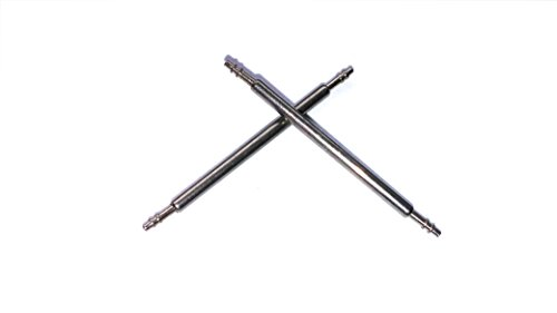 1 Paar Federstege spring bar Durchmesser 1 5 mm 44 mm breit