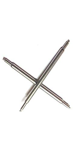 1 Paar Federstege spring bar Zapfen ohne Ansatz Teleskopform Durchmesser 1 8 mm spezielle breit 11 bis 15 mm