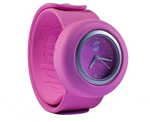 Original slappie Neon Pink Slap Uhr Kinder und kleine Erwachsene BBC Dragon s Den Winner 2016