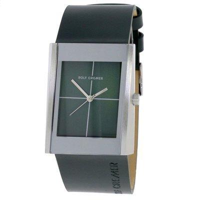 Uhr Quarz Edelstahl Leder Blade 502008