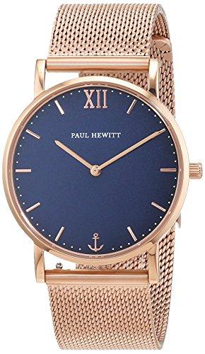 Paul Hewitt Unisex Armbanduhr Analog Quarz Edelstahl PH SA R Sm B 4S