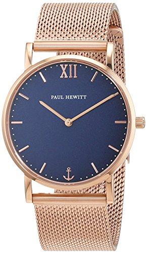 Paul Hewitt Unisex Armbanduhr Analog Quarz Edelstahl PH SA R St B 4M